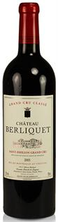 Chateau Berliquet St. Emilion Grand Cru 2005 750ml - Case...